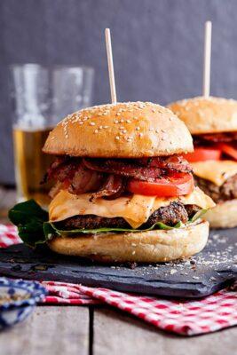 Recetas irresistibles de hamburguesa
