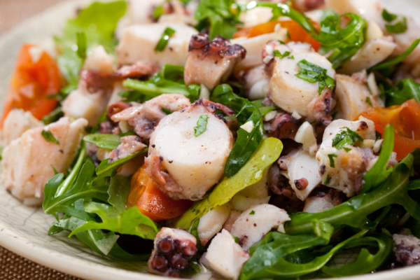 Recetas saludables con marisco